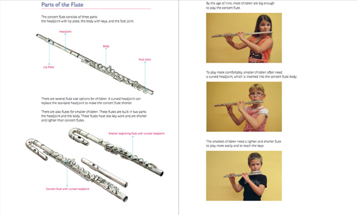 Learn As You Play Flute Tutor Book
