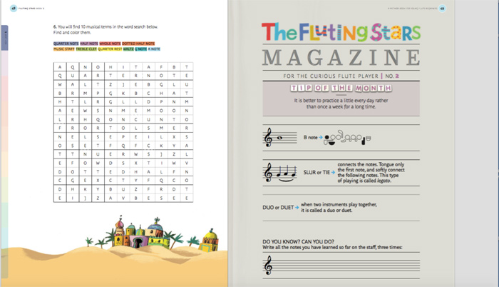 Fluting Stars – Method books for young flute beginners